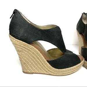 Seychelles Woven Wedge Sandals